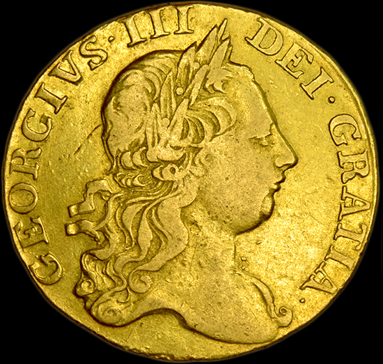 KING GEORGE THE III GOLD GUINEA image